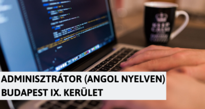 Angol nyelvű adminisztrátor – IX. kerület - Kinect
