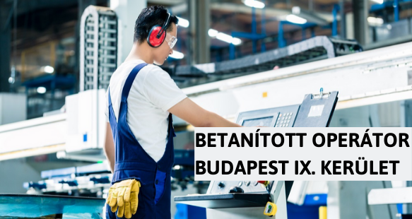 Betanított operátor - Budapest IX. kerület - CYCLOLAB Kft.