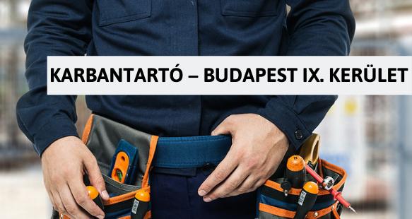 Karbantartó – Budapest IX. kerület - Müpa Magyarország